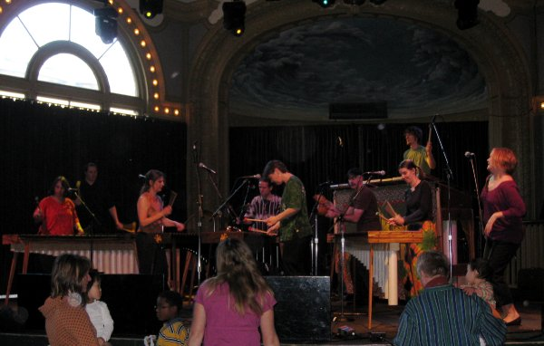 Boka Marimba at the Crystal Ballroom